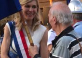 St-Julien / cérémonie du 14 juillet