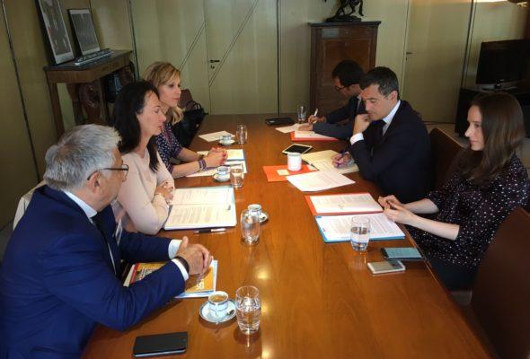 Rencontre avec Gérald Darmanin, Ministre de l'Action et des Comptes publics