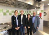 Gaillard / inauguration de la cuisine centrale