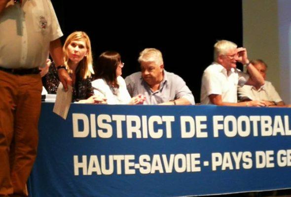 ⚽️ Soirée des récompenses organisée par le district de football Haute-Savoie Pays de Gex