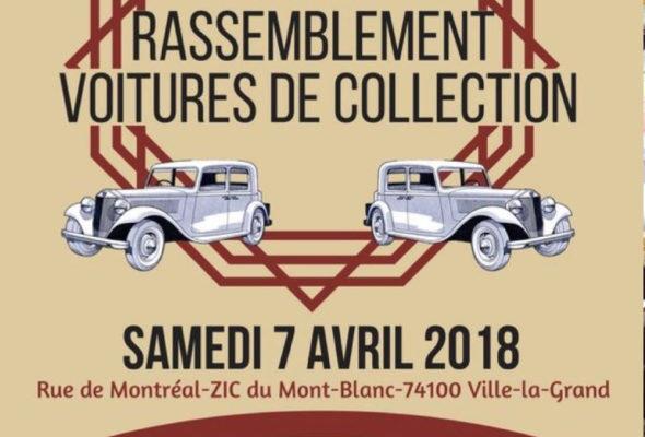 VLG / rassemblement d'en voitures de collection