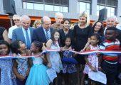 Inauguration du groupe scolaire Camille Claudel à Annemasse