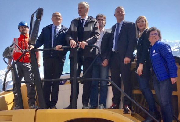 Les Houches / présentation et le lancement des travaux d'aménagement de l'opération KANDAHAR 2020.