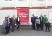 Accueil d'une délégation de sénateurs pour une présentation du projet du CEVA