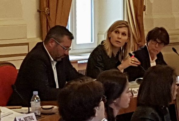 Session au conseil départemental de la Haute-Savoie