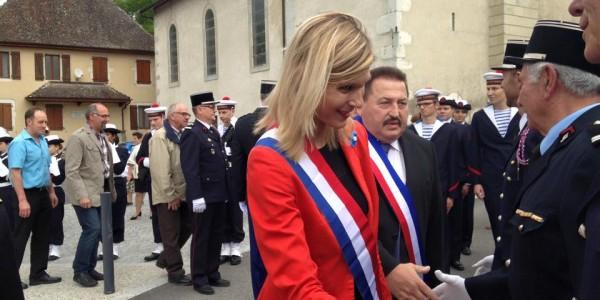 Commémoration du 8 mai à Frangy