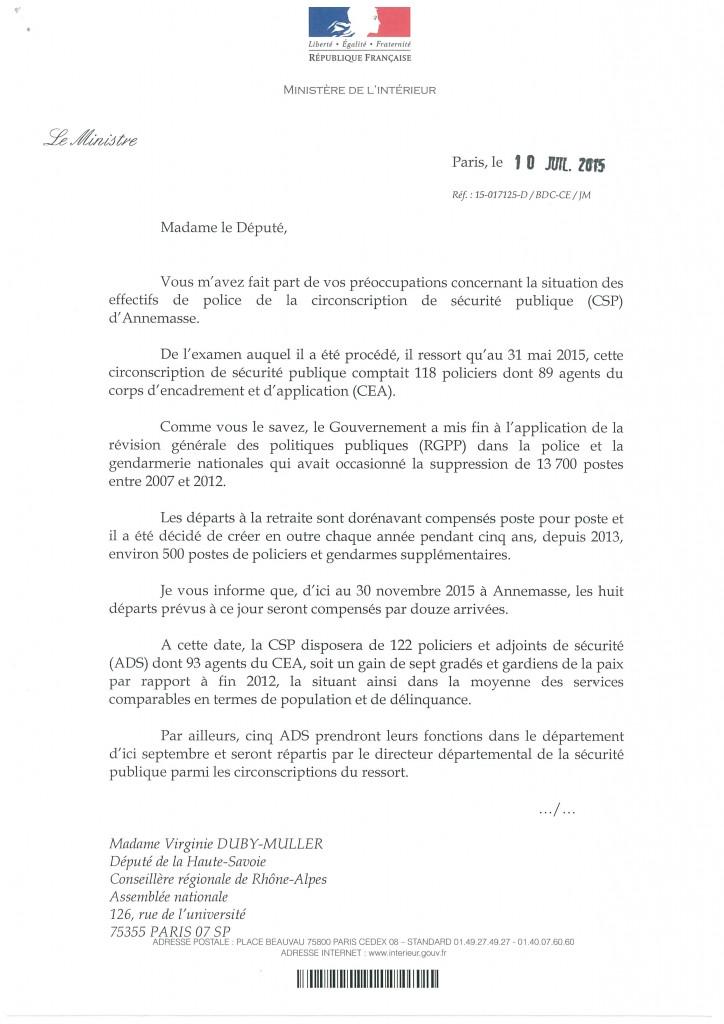 Virginie duby muller - Cabinet du ministre de l interieur ...