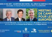 🗓 21.05.2019 Réunion publique élections européennes à Villeurbanne