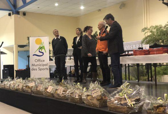 Annemasse / cérémonie de récompenses des sportifs organisée par l'OMS