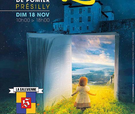 Présilly / salon du livre du Grand Genève à la Chartreuse de Pomier