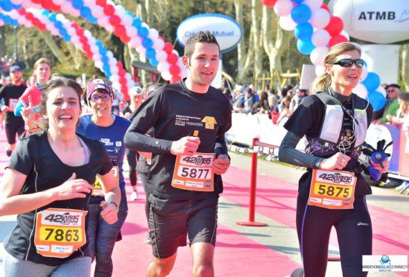 Annecy / participation au 10 Km pour SEPasImpossible