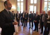 Annecy / rencontre avec le Premier Ministre