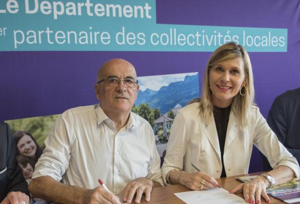 Beaumont / lancement du contrat départemental d'avenir et de solidarité pour le canton
