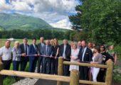 Eloise / inauguration des aménagements piétonniers et du nouveau centre technique municipal