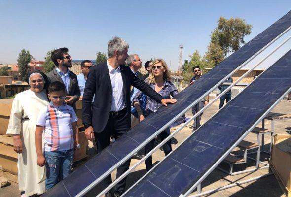 Irak / déplacement à Erbil