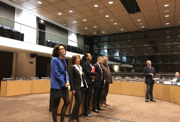 Audition des candidats à la présidence de LCP