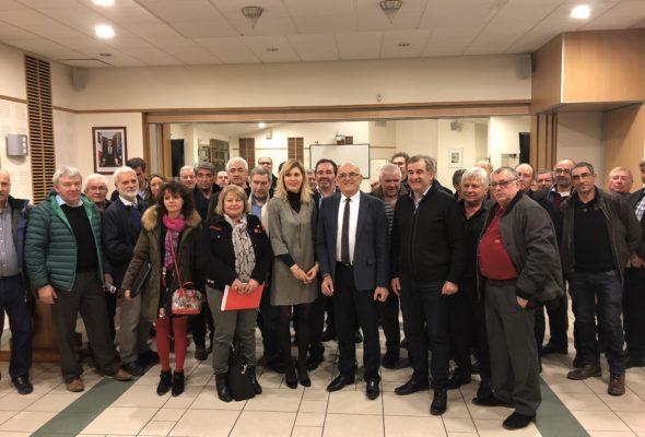 Seyssel / V. Duby-Muller et C. Monteil ont réuni les 40 maires du canton
