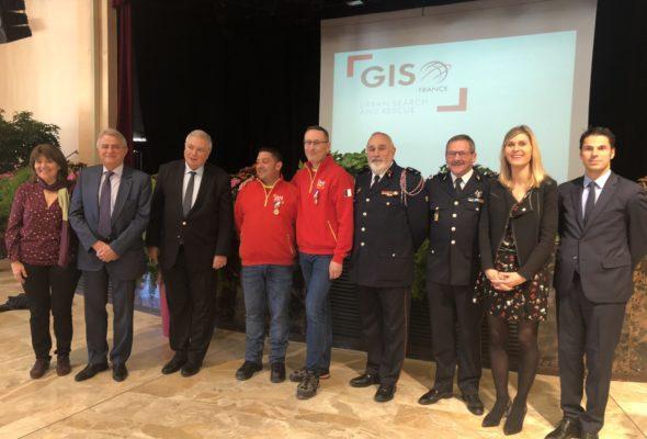 Gaillard / Deux membres du GIS ont reçu la médaille de la sécurité intérieure