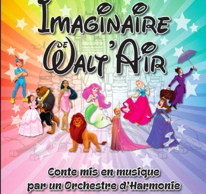 Gaillard / Final du spectacle le «Merveilleux imaginaire de Walt'air»