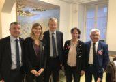 Rencontre avec Bruno Le Maire et le GTE