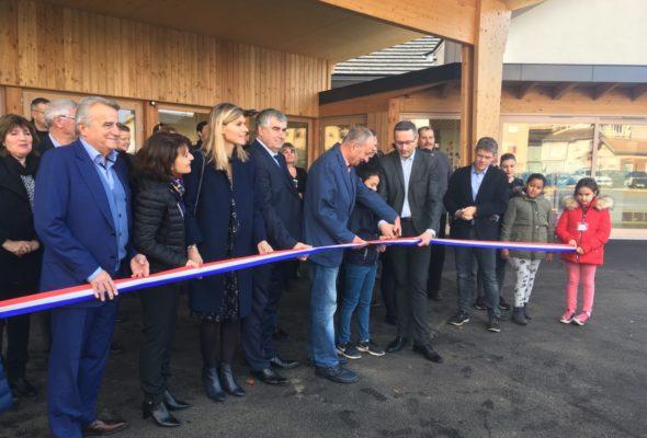 Gaillard / Inauguration du nouveau centre de loisirs mutualisé Gaillard-Etrembières