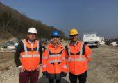 Etrembières / Visite des travaux supprimant le passage à niveau n° 93