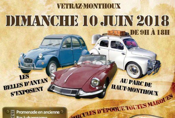 Vétraz-Monthoux / 6ème édition du Vétraz Auto Rétro