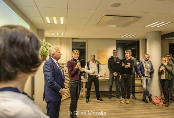 Annemasse / inauguration des nouveaux locaux d'Entrelac coworking