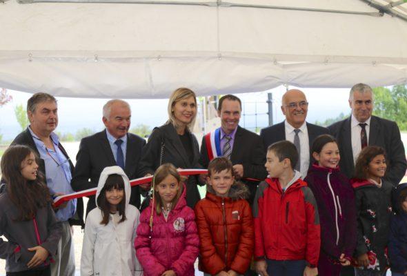 Inauguration de l'espace multigénérationnel de Dingy-en-Vuache
