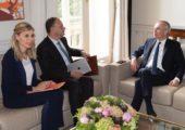 Entrevue avec le Président de l'Assemblée nationale pour faire le point sur le groupe de travail consacré au statut des députés