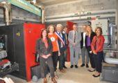 Lucinges / inauguration de la chaufferie collective bois-énergie avec réseau de chaleur citoyen