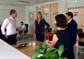 Annemasse / visite d'Entrelac – espace de coworking