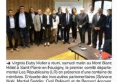 St-Pierre-en-Faucigny / Premier comité départemental Les Républicains suite aux élections internes
