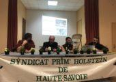 Vétraz-Monthoux / Assemblée générale du syndicat 74 des Prim'Holstein