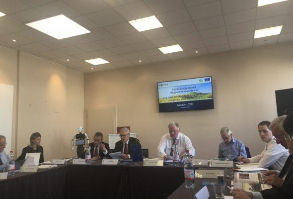 Séminaire de travail sur « La juste répartition de la fiscalité et des charges en zone transfrontalière »