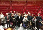 Visite des élus d'Etrembières à l'Assemblée nationale