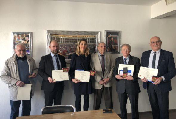 Les parlementaires et élus honorés par les anciens combattants (DL)