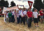 Sillingy / mobilisation aux côtés des agriculteurs contre les installations illicites des gens du voyage