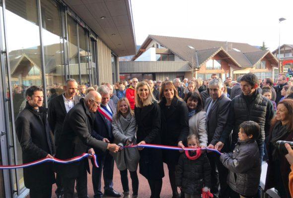 Feigères / inauguration et portes ouvertes de l'extension et rénovation du groupe scolaire Edouard Vuagnat