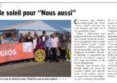Aérodrome d'Annemasse / action caritative pour des résidents de Nous Aussi