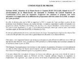 Intervention avec S. Noël auprès du Président du CSA concernant la fin de la diffusion de la RTS en France