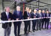 Juvigny / inauguration du nouveau site de Rochex