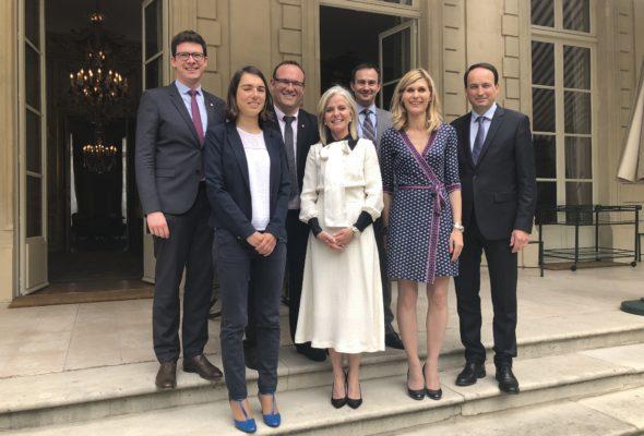 Rencontre avec Isabelle Hudon, ambassadeur du Canada en France 🇫🇷  🇨🇦