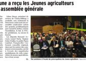 La Balme de Sillingy / La commune a reçu les Jeunes agriculteurs pour leur assemblée générale (DL)