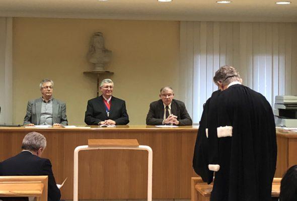 Cérémonie de vœux du conseil de prud'hommes d'Annemasse