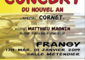 Collonges-sous-Salève / concert du nouvel an de l'harmonie de Frangy organisé la l'UDC-AFN