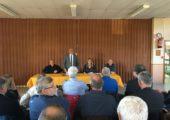 Chilly / réunion des maires du canton de St-Julien / Frangy / Seyssel