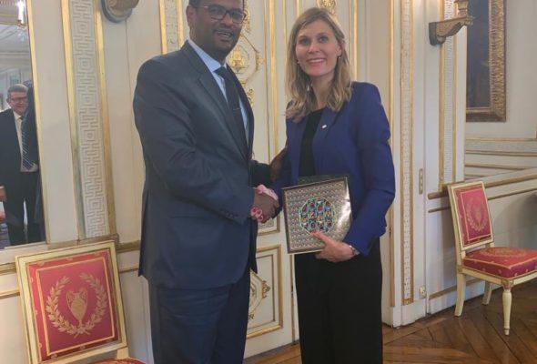 Rencontre avec S.E. Enok Tefarra, nouvel Ambassadeur d'Ethiopie en France