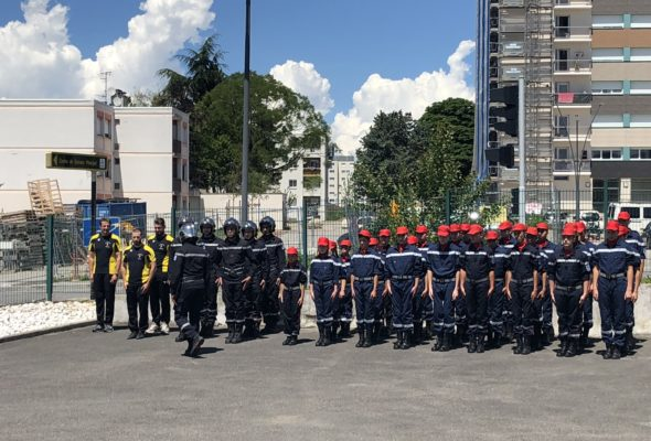 Annemasse / 60ème anniversaire des Jeunes Sapeurs-Pompiers