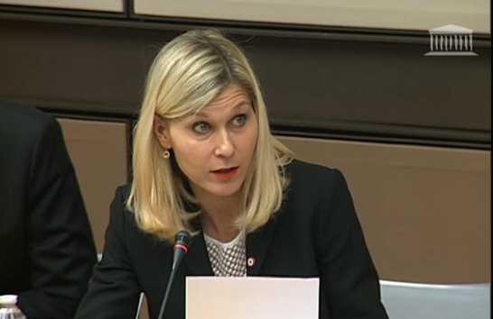 Rapport sur les objets connectés / intervention en commission des affaires économiques